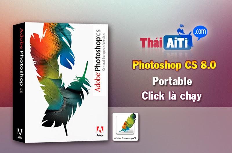 Photoshop CS (8.0) bản quyền Central European Click là chạy