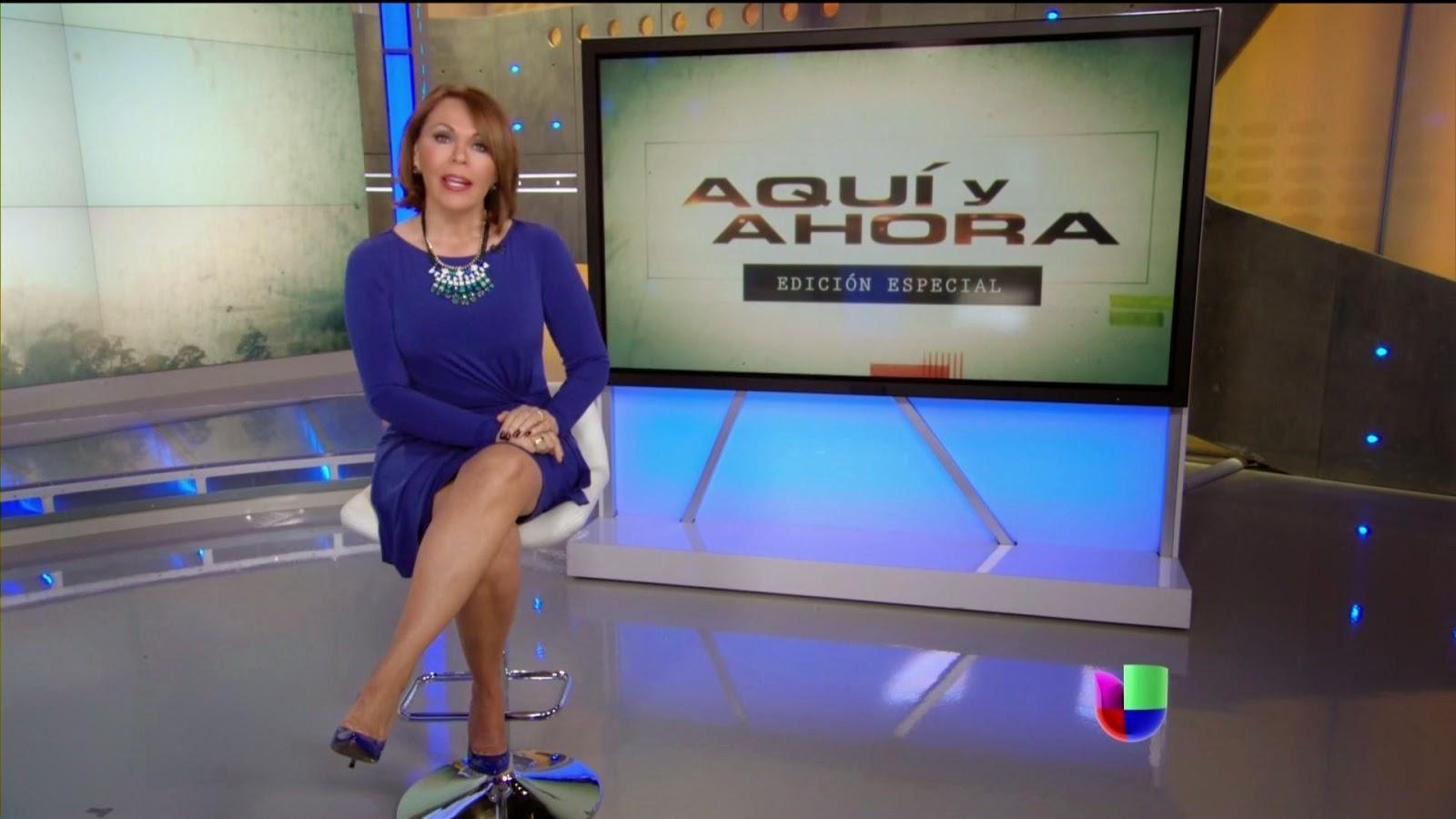 Maria Elena Salinas feet