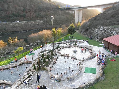 Turismo En Ourense Complexo Termal De Outariz