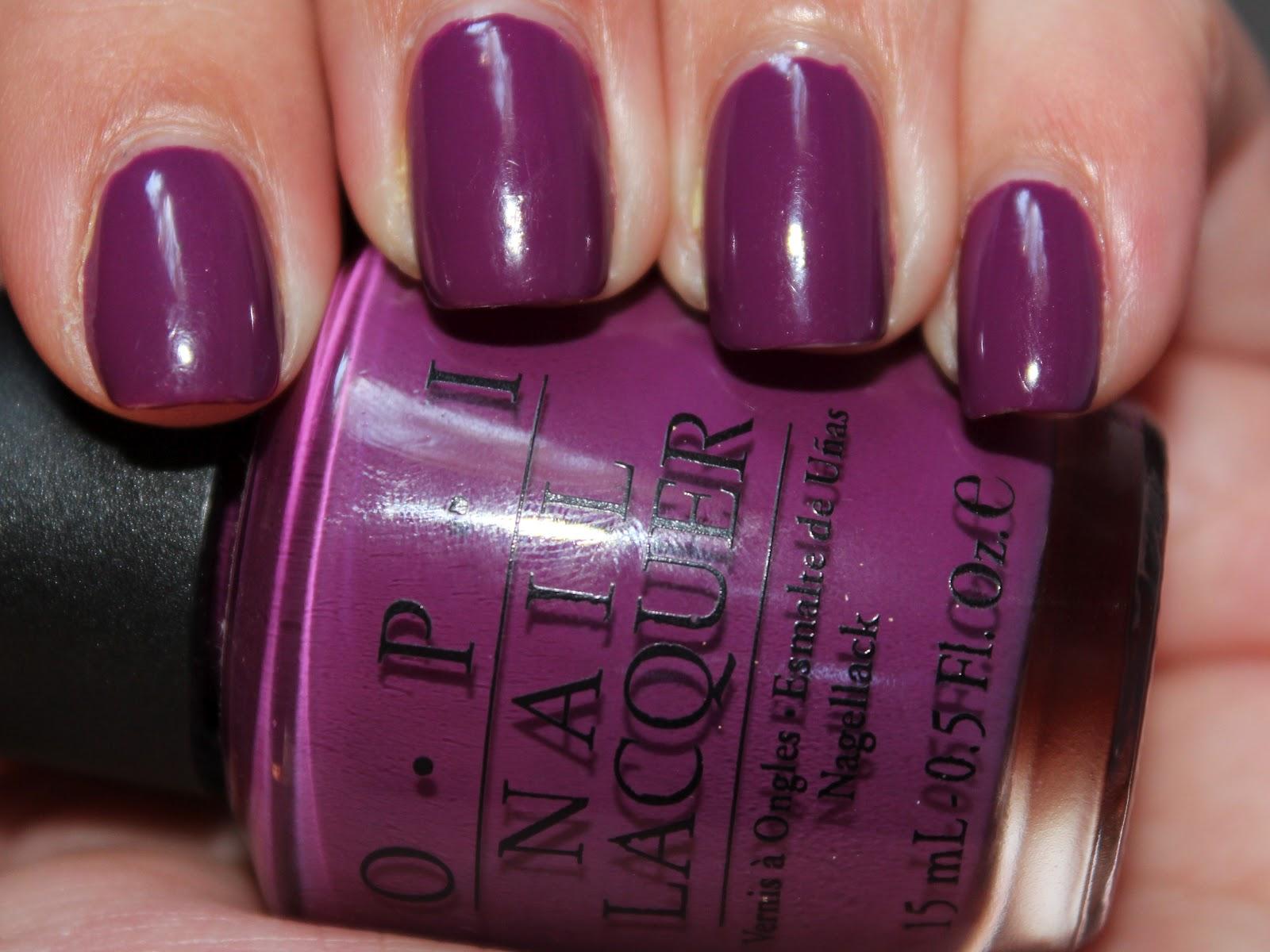 Light Purple Nail Polish Opi Opi s espana collection was