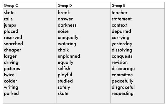 spelling homework sheets year 3