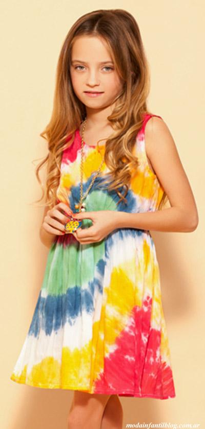 vestidos niñas verano 2014 nucleo