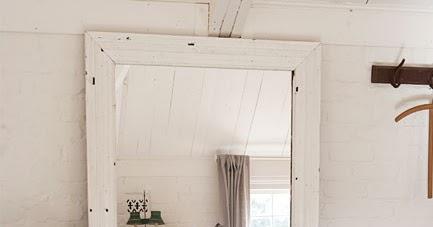 En mi espacio vital muebles recuperados y decoraci n vintage espejos en el suelo mirrors on - A que altura colgar un espejo de cuerpo entero ...