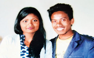 Sanjay Gazmer and Priya Sarki killed by  landslide at 11th mile in Topkhana kalimpong