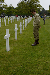 Cemetery in Normandy