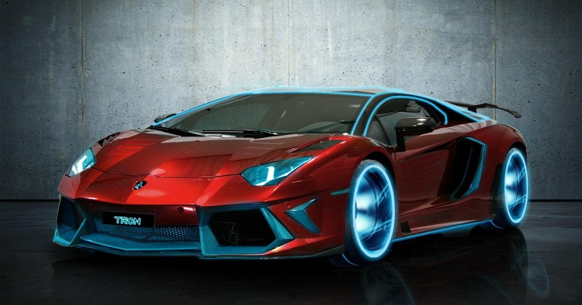Cool Cars Lamborghini Neon ~ Sports Car Wallpaper