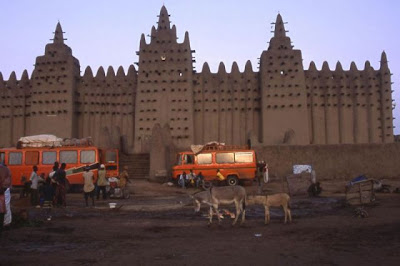 The Great Mosque of Djenné Seen On www.coolpicturegallery.us