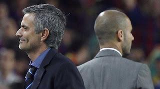 Mourinho y Pep Guardiola, Barça, Real Madrid