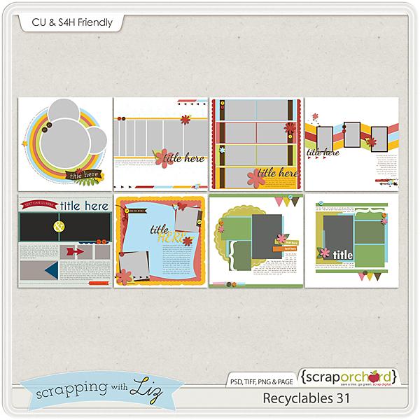 http://scraporchard.com/market/Recyclables-31-Digital-Scrapbook-Templates.html