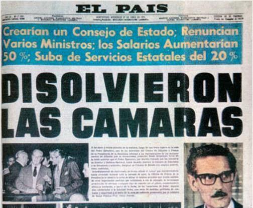Golpe de estado, dictadura