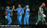India Vs Afghanistan 3rd Match T20 world cup 2012
