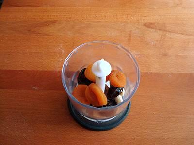 Procedimento Involtini con frutta secca - Passaggio 3