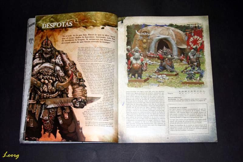 Bestiario en color en Ejércitos Warhammer: Reinos Ogros