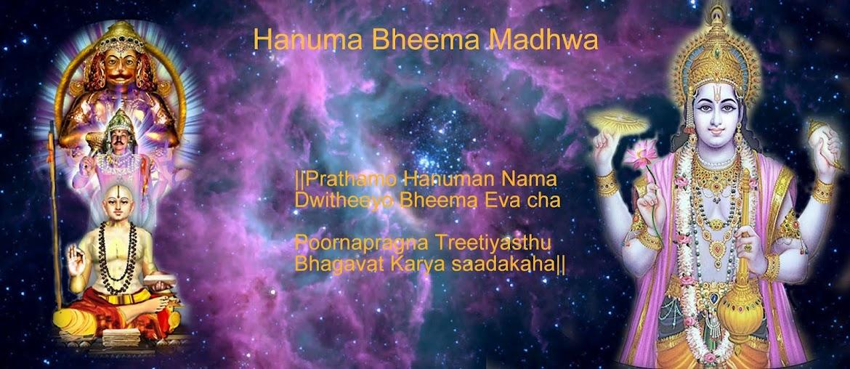 Hanuma Bheema Madhwa
