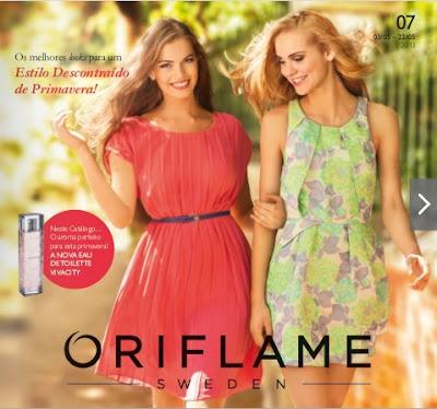 Catálogo Oriflame, recebe o teu em casa!