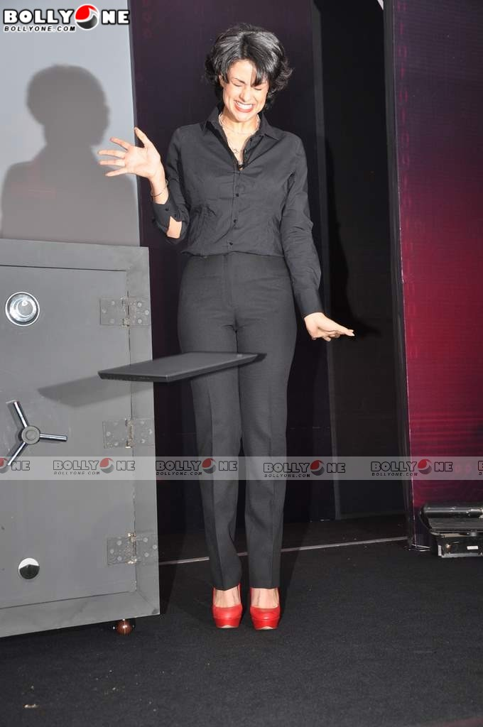 Gul Panag at Lenovo ThinkPad X1 laptop launch