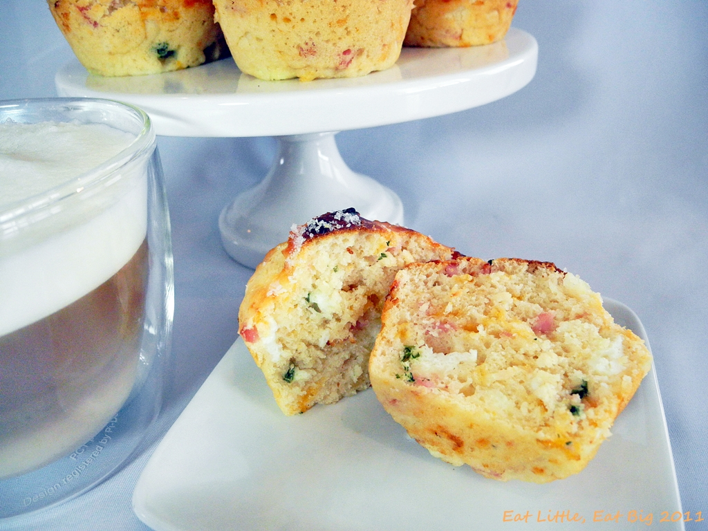 Recipe for Bacon, Egg, and Cheese Scone Muffins | Eat Little, Eat Big