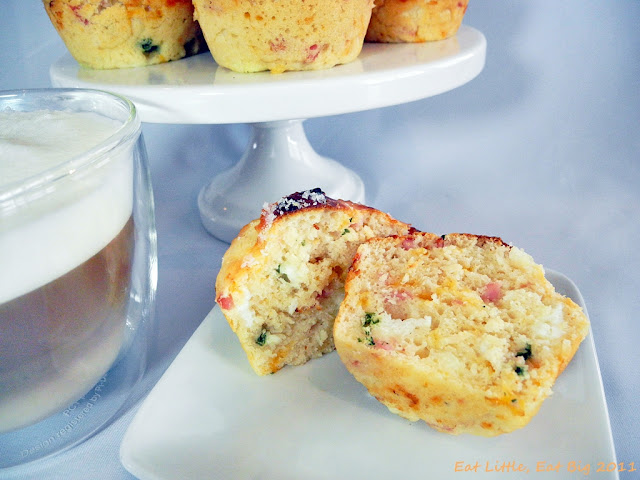 Recipe for Bacon, Egg, and Cheese Scone Muffins   Eat Little, Eat Big