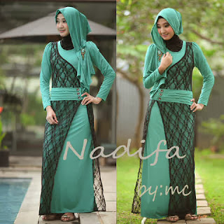 Nadifa Maxi Dress + Pashmina