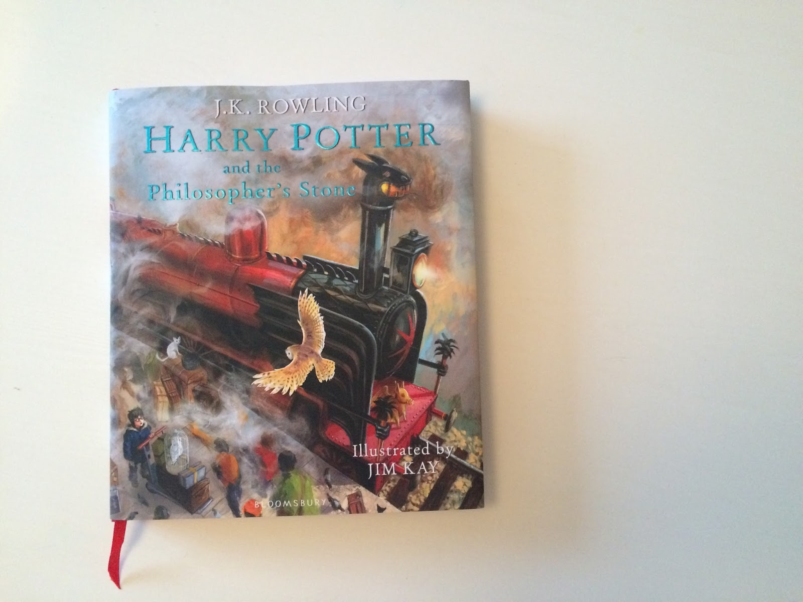 Id Therefore Like To Thank My Mum For Understanding That Ill Probably Never Grow Out Of Love Harry Potter And Gifting Me With This Beautiful Book