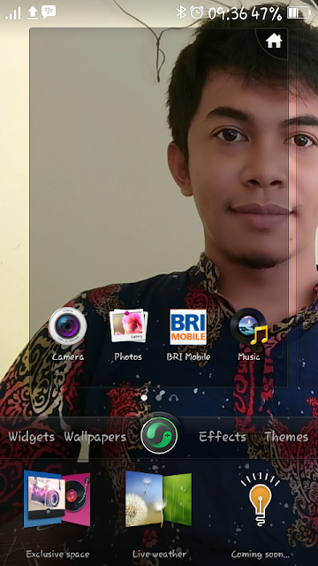 Added Music Space at HomeScreen Of OPPO