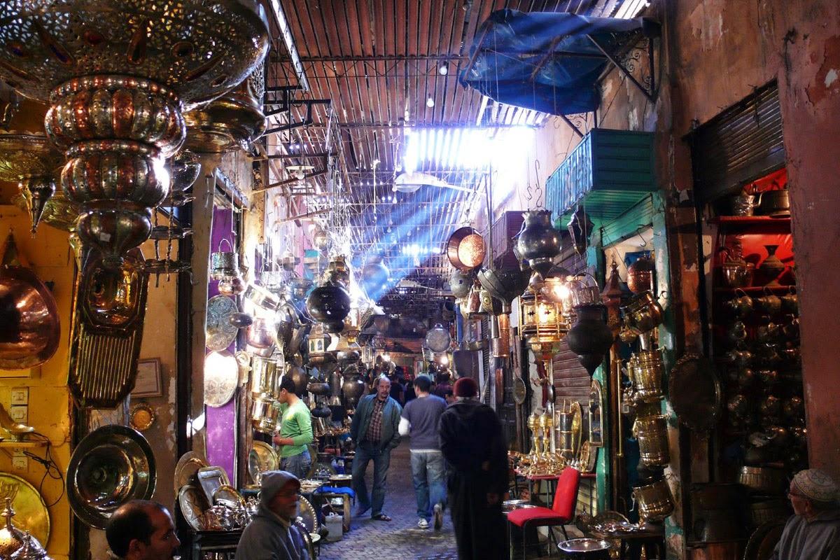 mercato di Medina