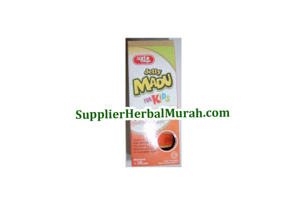 Jelly Madu For Kids (Madu, Royal Jelly dan Bee Pollen)
