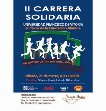 Ampa csb madrid ii carrera solidaria for Autoescuela colonia jardin
