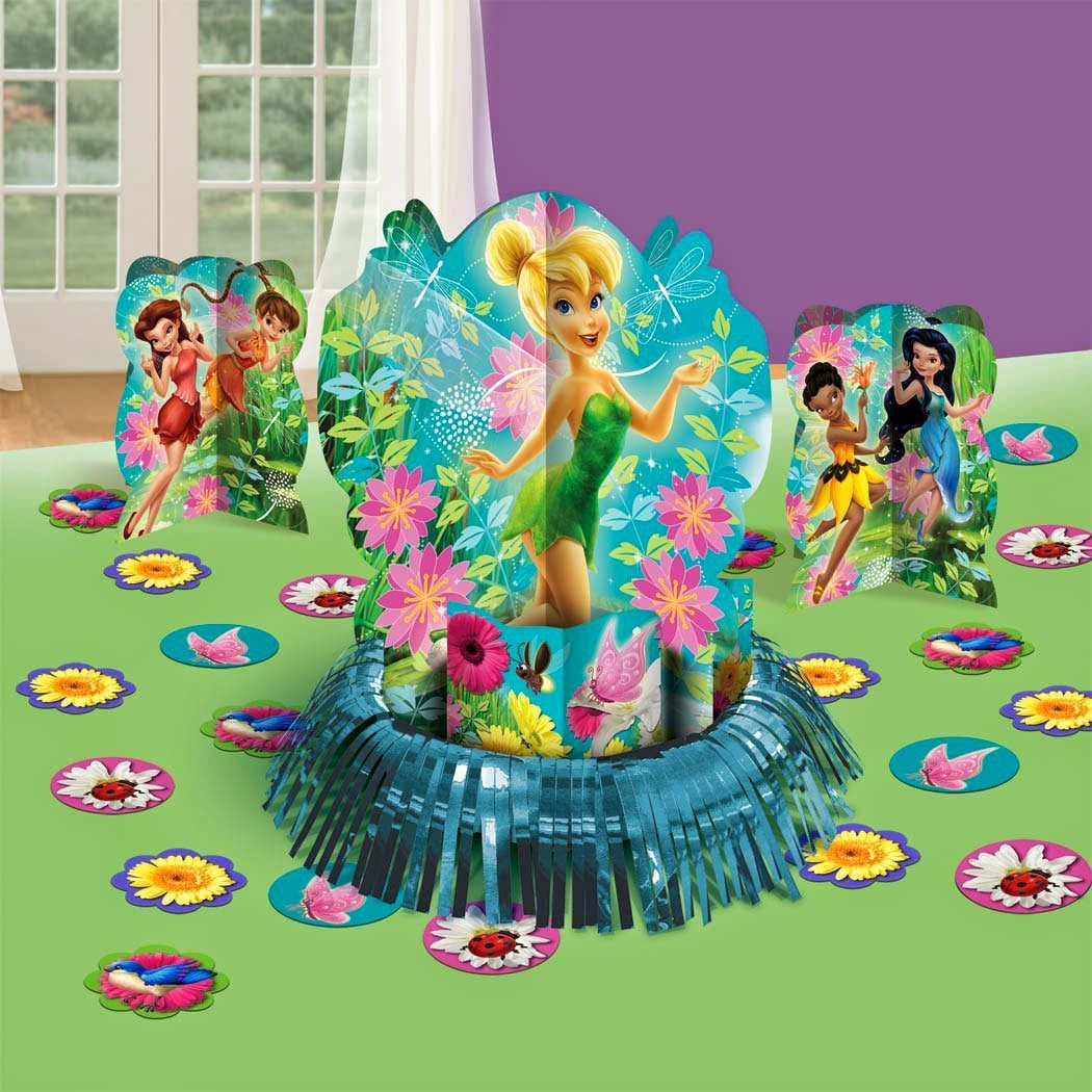 Disney Theme Decorations Disney Fairies Tinkerbell Themed Party Supplies And Ideas Fun