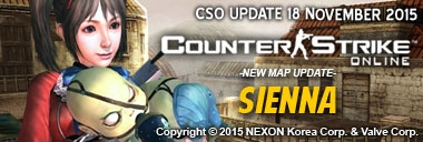 Counter Strike Online Indonesia Hadirkan Map Baru Sienna