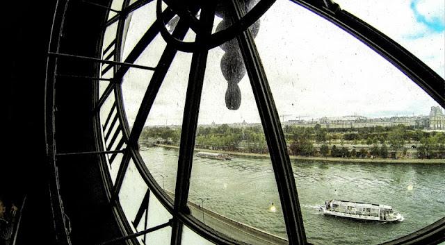 Sena desde Orsay (Paris)