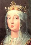 Isabel la Católica (Madrigal 22 de Abril de 1451 - Medina del C. 26 de Noviembre de 1504)