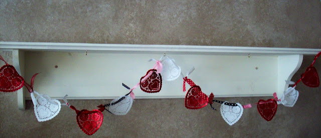 Heart+Swag Valentines Day Craft | Valentines Heart Swag