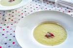 Sopa freda de meló amb pernil