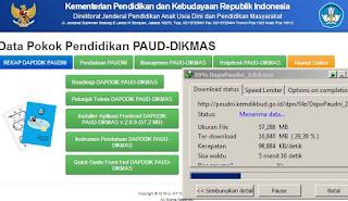 Download Dapodik Paud Dikmas Versi 2.0.0 Terbaru 2016