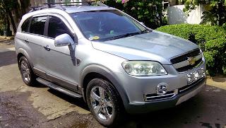 Mobil Chevrolet Captiva Bensin