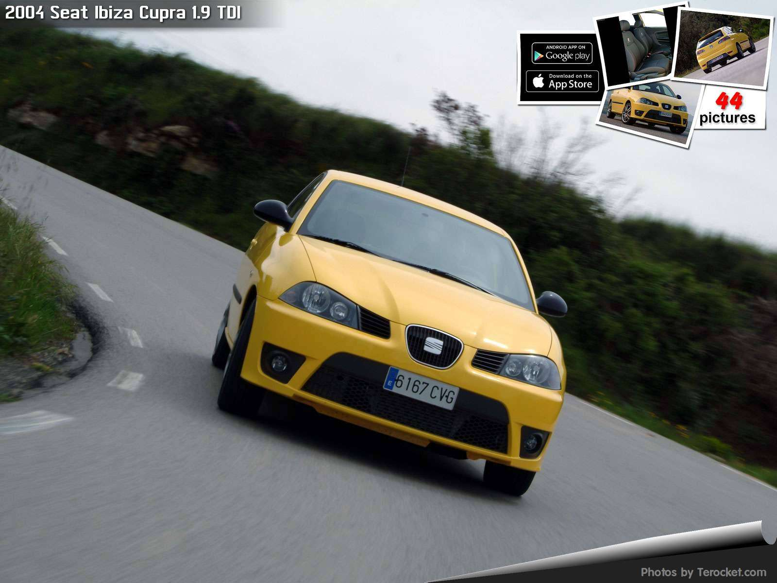 Hình ảnh xe ô tô Seat Ibiza Cupra 1.9 TDI 2004 & nội ngoại thất