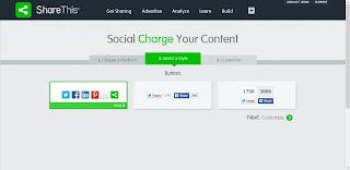 Cara Mempercantik Tampilan Blog dengan Social Share Button 2