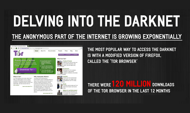 Delving into the Darknet: A Look at the Rapid Growth of the Anonymous Internet