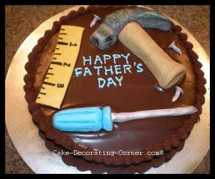 Торт своими руками папе на день рождения от дочки