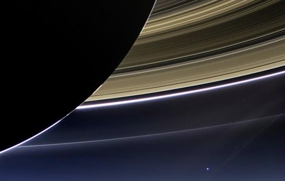 Matahari, Bumi dan Saturnus Segaris Lurus di Tata Surya Malam Ini