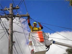Power Pole Repairing Work