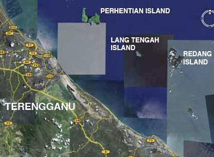 Pulau Lang Tengah Map