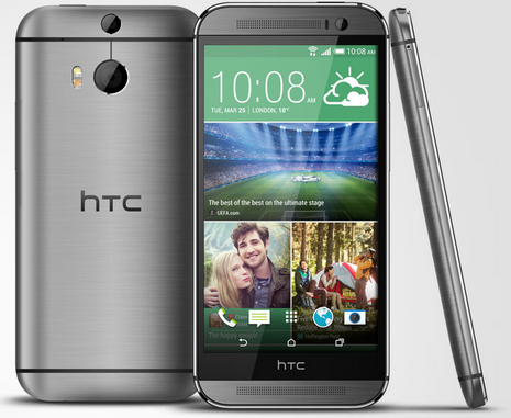 Grey HTC One M8 Android 4.4 Smartphone
