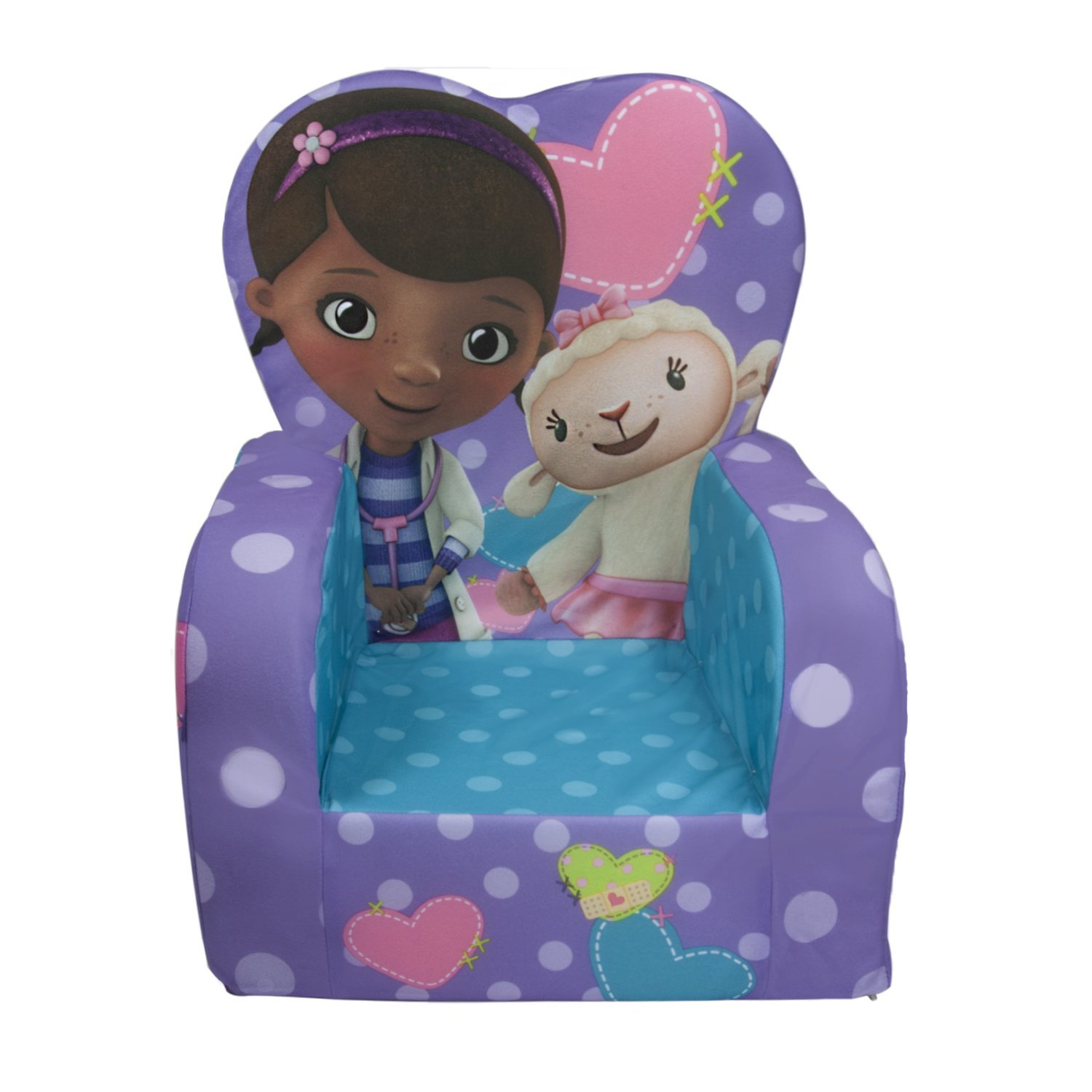 Home Furniture Online Shop And Sale Doc Mcstuffins Plush High Back Chair By Marshmallow
