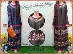 CS0113  Gamis Davina Bordir SOLD OUT