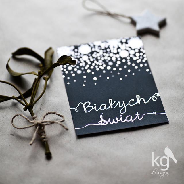 zimowe zaproszenia ślubne, płatki śniegu, śnieg, zima, białe święta, srebrny zadruk, połysk, czarny, jemioła, gwiazda, szary papier, eko