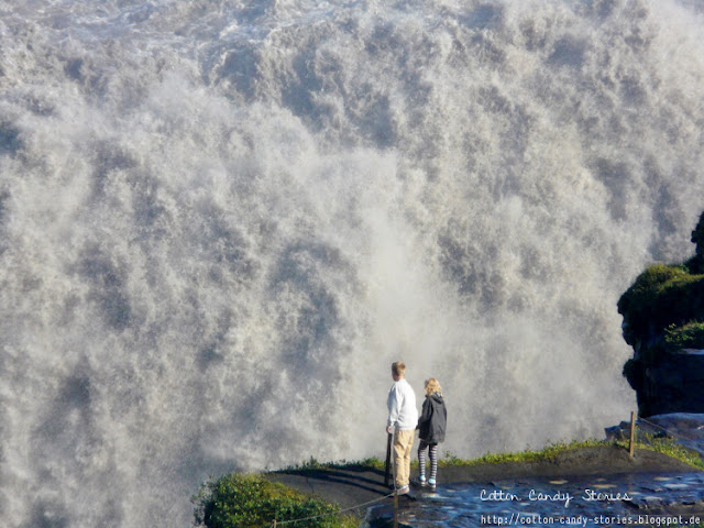 Blick auf den Dettifoss in Island