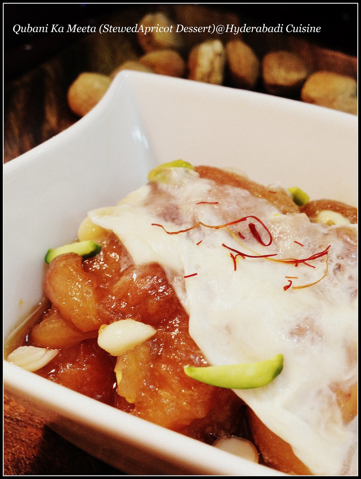 Hyderabadi cuisine qubani ka meetha stewed apricot dessert qubani ka meetha stewed apricot dessert forumfinder Image collections