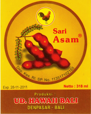 ASAM PL HAWAI BALI